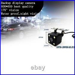 Normal car rearview mirror+3.5LCD+camera, fit Ford Toyota Nissan Honda Dodge Kia