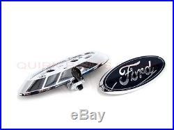 OEM NEW Rear View Back Up Camera Harness Emblem Housing Kit 2011 Ford F-150