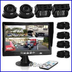 PYLE Rear-View Backup Camera & Video Monitor