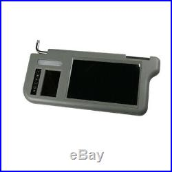 Pair 7inch Car Sun Visor LCD Monitor 2-CH Video For DVD/GPS/TV & Rearview Camera