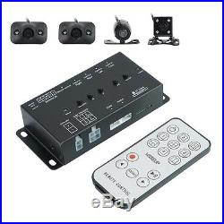 Parking Full View 360° Monitor DVR Box&Front Rear Side 4 IR Cameras Night Vision