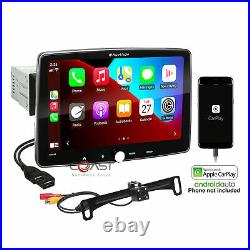Planet Audio 10.1 Bluetooth Carplay Android Rear View Camera Stereo Receiver