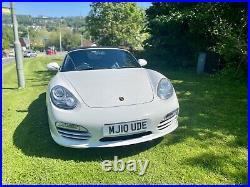 Porsche Boxter 987.2 2.9L manual white Convertible 2010