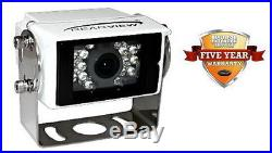 Rvscc88130 Ultra Low Light Color Rear View Backup Camera (white Housing) Rear