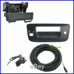 Rear View Camera Add On Kit with Wiring Harness Tailgate Handle & Bezel for Chevy