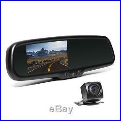 Rear View Mirror with Backup camera. Backup Camera System, Car Pickup waterproof