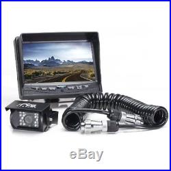 Rear View Safety Backup Camera System With Trailer Tow Quick Connect/Disconnect