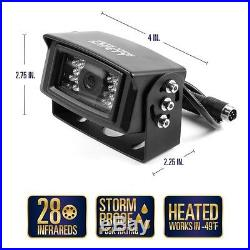 Rear View Safety Heated Backup Camera System with 7.0 Inch LCD RVS-770812N