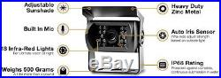 Rear View Safety RVS-770613 Video Camera with 7.0-Inch LCD Black WIRED