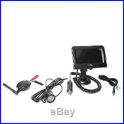Rear View Safety Wireless Backup Camera System with Cigarette Lighter