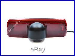 Renault Trafic Vivaro LED Brake Light Rear View Reversing Colour Camera NTSC