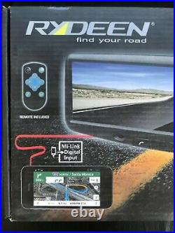 Rydeen MD4BT 4.3 HDMI Smart Rearview Mirror With Bluetooth Backup Camera Input