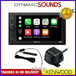 Sony 6.2 Screen Apple Car Play Bluetooth DAB With DAB Aerial & Reverse Camera