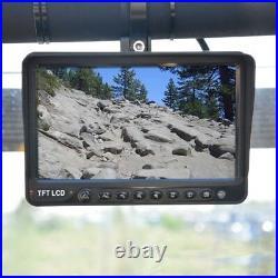 SummitView UTV/Rockcrawler IR Front Rear Cameras with 7 DVR Multi-View Display