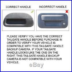 Tailgate Handle Backup Rear View Camera for Heritage Ford F Series Truck 97-07