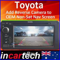 Toyota Corolla add Reverse Camera Integration to Original OEM Monitor 100184