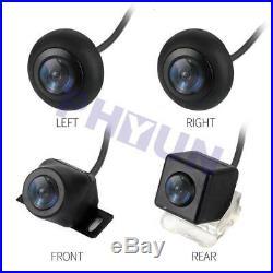 Universal Bird Eye View Car Back Up Camera DVR Recorder G-Sensor Night Vision US