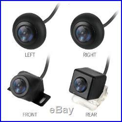 Universal HD Bird View Car 4 Camera DVR Recorder G-Sensor Lightless Night Vision