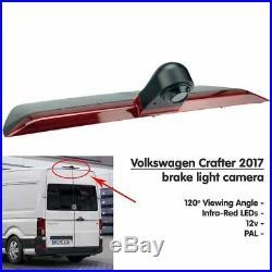 VW Crafter 2017 Van High Level Brake Light Rear View Parking Reverse Camera