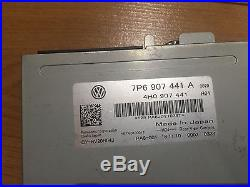VW Touareg 7P 2011-up Rear View Camera Backing Set Controller Multimedia Cable