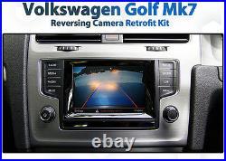 VW Volkswagen Golf Mk7 Badge Audio retrofit Reversing Camera Kit reverse rear