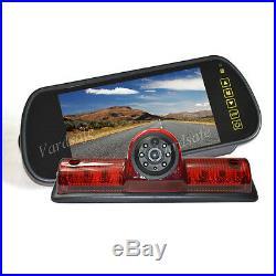 Vardsafe Brake Light Rear View Backup Camera kit For Nissan NV 1500 2500 3500