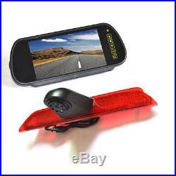 Vardsafe Brake Light Rear View Reverse Backup Camera Kit for Ford Transit