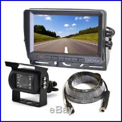 Vardsafe Rear View Reverse Backup Camera Kit for RV Motorhome Truck Bus Van