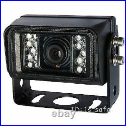 Veise 7 Inch Rear View Back Up Camera System, Cab Observation Reverse Tft LCD