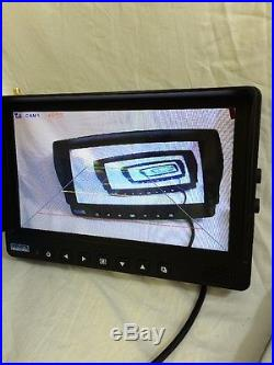 Veise 9 Wireless Digital Auto Backup Rear view Two Camera E-top L