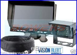 Vision Alert Gemineye Ecco K7000b 12v24v 7 LCD Reversing Reverse Camera Kit