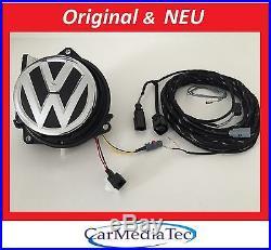 Volkswagen RFK Rückfahrkamera GOLF 7 VII 5G0827469F FOD Nachrüst Set Kit Emblem