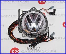 Vw Golf VII 7 Sportwagen Rear View Camera Rvc Logo Emblem Badge 510827469 B