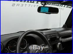 (WRANGLER) Raxiom Auto Dimming Rear view Mirror Backup Camera 2007-2018 Jeep JK