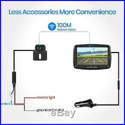 Wireless Car Backup Camera Rear View Reversing System + 4.3 TFT LCD Monitor