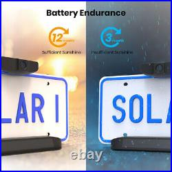 Wireless DIY Car Reverse Camera (Solar Powered) for Australia, EU, US plates