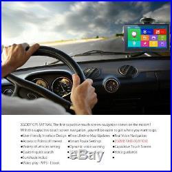 XGODY 7 Bluetooth Wireless Rearview Camera AV-IN 8GB Car GPS Navigation 3D Maps