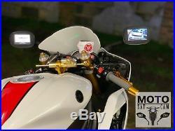 Yamaha Raptor 660-700 1999-2018 Integrated Gps Sat Nav Rear View Camera Mirrors